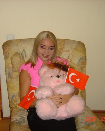 ragazza di Sochi