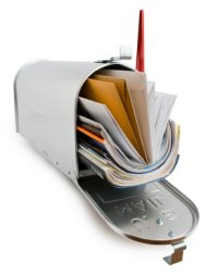 mail spam per scammers