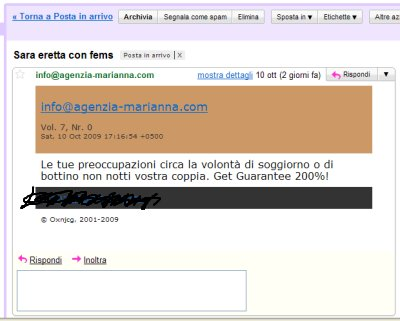 forged email spam agenzia_marianna